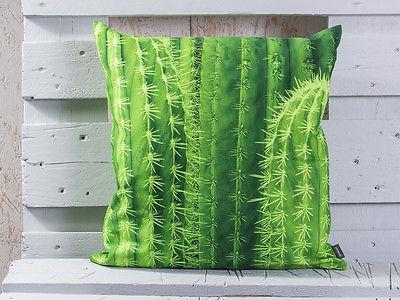 Pad Kissen Kaktus SPINY Kissenbezug 45x45 grün pad concept Kissenhülle