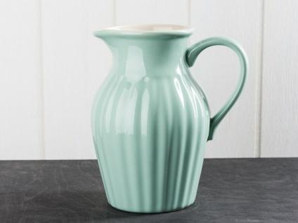 IB Laursen MYNTE Kanne 1.7 Liter Grün Keramik Geschirr GREEN TEA Krug Karaffe