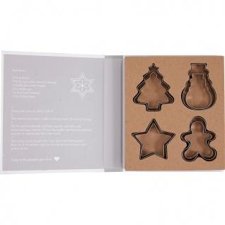 Greengate Ausstechformen CHARLINE Weihnachtsmotive Kekse Plätzchen Ausstecher