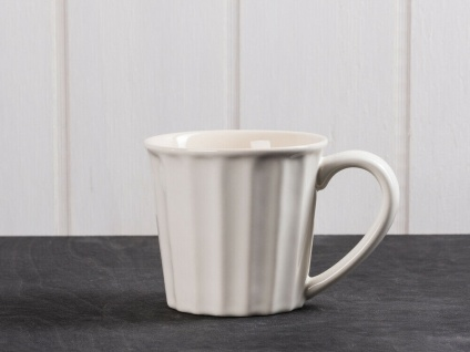 IB Laursen MYNTE Becher Creme Weiß BUTTER CREAM Tasse Keramik 250 ml Kaffeetasse
