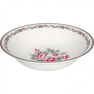 Greengate Schale CHARLINE Servierschale Blumen Porzellan Geschirr Suppenschale