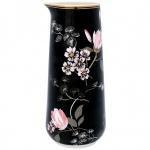 GreenGate Krug AMELIE schwarz Blumen 0, 7 Liter Gate Noir Kanne Karaffe Porzellan