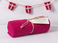 Solwang Küchentuch BORDEAUX ROT gestrickt Putztuch Geschirrtuch Handtuch Gäste