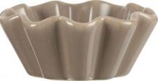 IB Laursen Muffinschale Mynte hellbraun Milky Brown Muffin Form Keramik Kuchen