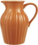 IB Laursen Kanne MYNTE Orange Keramik Geschirr Pumpkin Spice Krug 1.7 L Karaffe