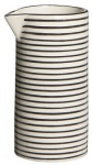 IB Laursen Kanne Casablanca schwarz weiß 0.2 Liter Streifen Geschirr Milchkännch