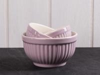 IB Laursen MYNTE Schalensatz Lavender Haze Lila Schüsseln Keramik 3er Schalen