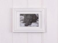 Bilderrahmen LINDA weiß 19x24 cm, für 1 Foto im Format 10 x 15 cm