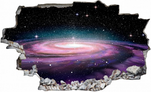 Sterne Planet All Galaxy Weltall Wandtattoo C0238