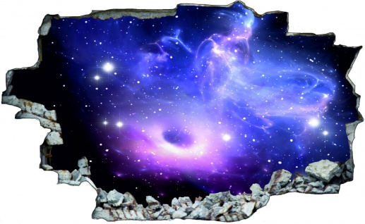 Planet Sterne Weltall All Galaxy Wandtattoo C0218