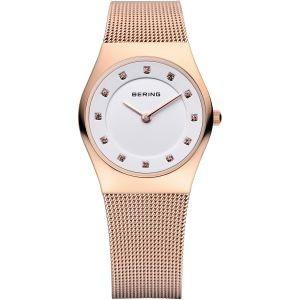 Bering Uhren in Zwickau: Damenuhr Edelstahl Rosè Mesh-Armband 11927-366