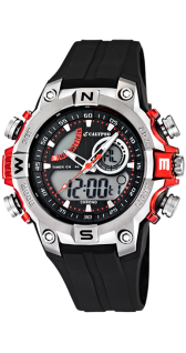 Calypso Uhren in Zwickau: Herrenuhr Analog/Digital K5586/1