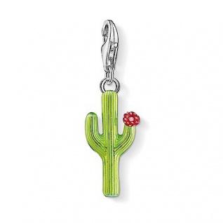 Thomas Sabo Charm Grüner Kaktus mit Blüte 1437-007-33