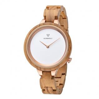 Kerbholz Uhren in Zwickau: Armbanduhr Hinze Olivewood 4251240409948