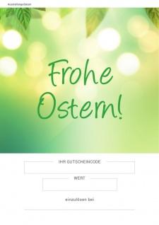 """Gutschein in Zwickau: Geschenkgutschein """" Ostern"""" #supportyourlocalstore"""