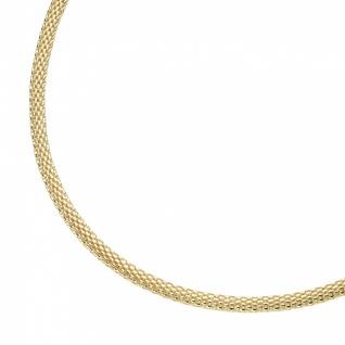 Silberkette Mesh vergoldet 99050991450