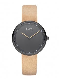 M&M Uhren in Zwickau: Damenuhr Lederband Cirlce Lines Minutes M11955-599