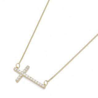 """Collier Gold """" Kreuz"""" 99013040450"""