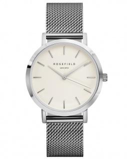 Rosefield Uhren in Zwickau: Armbanduhr Mercer White Silver MWS-M40