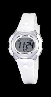 Calypso Uhren in Zwickau: Damenuhr digital weiß K5609/1