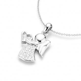 Silberkette mit Engel und Herz 99011293450