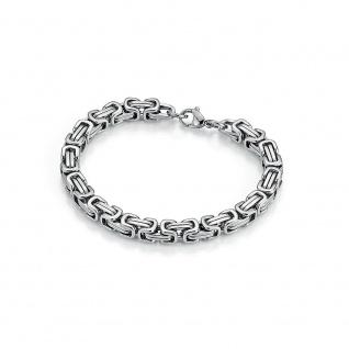 Eigenmarke Juwelier Streit, Zwickau: 72000510210 Königsarmband Edelstahl