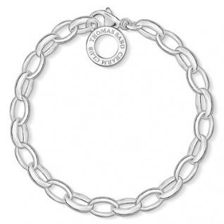 Thomas Sabo X0032-001-12-M Charm-Armband Silber