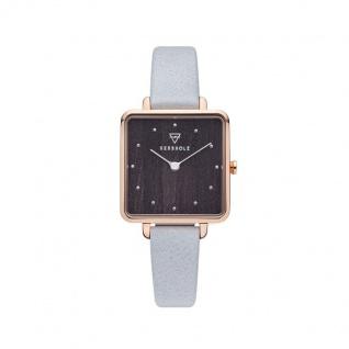Kerbholz Uhren in Zwickau: Damenuhr Elise Rosègold Darkwood 4251240412474
