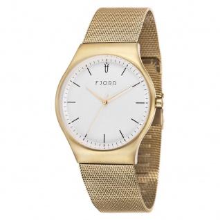 Fjord Uhren in Zwickau: Armbanduhr IP Gold Milanaiseband 927001916