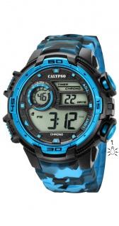 Calypso Uhren in Zwickau: Herrenuhr digital K5723/4