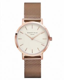 Rosefield Uhren in Zwickau: Damenuhr Tribeca White Gold Rosè TWR-T50