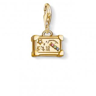 "Thomas Sabo in Zwickau: Charm Silber vergoldet "" Vintage Koffer"" 1763-996-7"