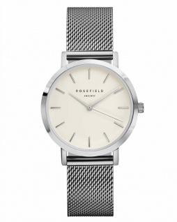 Rosefield Uhren in Zwickau: The Tribeca White Silver TWS-T52
