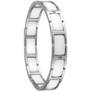 Bering Schmuck in Zwickau: Armband Edelstahl Keramik weiß 602-15-185