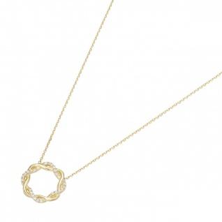 Eigenmarke Juwelier Streit Zwickau 99037240450 Collier Gelbgold 375/-