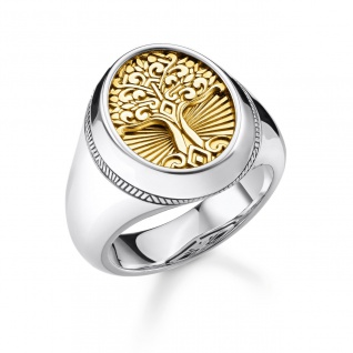 "Thomas Sabo Schmuck in Zwickau: Ring Silber "" Tree of love"" TR2296-966-39-60"