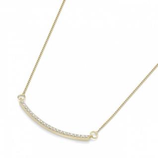 Collier Goldkette mit Mittelteil 99012940450