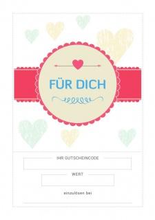 """Gutschein in Zwickau: Geschenkgutschein """" Liebe"""" #supportyourlocalstore"""