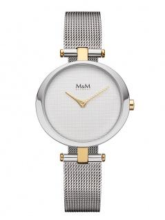 M&M Uhren in Zwickau: Damenuhr Mesharmband M11931-161, Ring-O