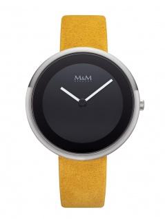M&M Uhren in Zwickau: Damenuhr Lederband M11946-025 Big Circle