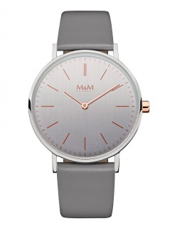 M&M Uhren in Zwickau: Armbanduhr Lederband M11892-862, Basic Line 36