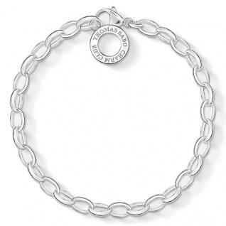 Thomas Sabo Charm-Armband Silber X0031-001-12-M