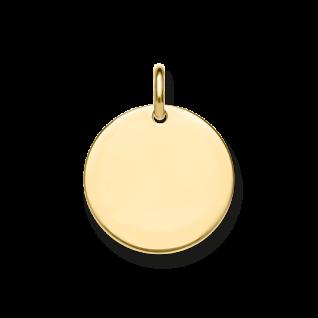 Thomas Sabo Anhänger Love Coin vergoldet LBPE0016-413-12