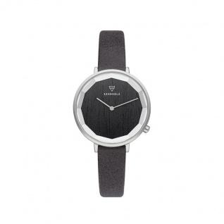 Kerbholz Uhren in Zwickau: Damenuhr Mia Darkwood Black 4251240415710