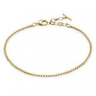 Thomas Sabo A1561-413-12-L19, 5v Armband Silber vergoldet, blank