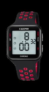 Calypso Uhren in Zwickau: Herrenuhr digital K5748/5