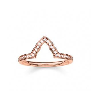 Thomas Sabo Ring rosè TR2070-416-14-56
