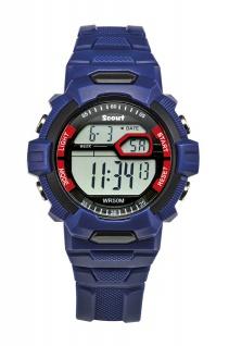 """Scout 280.308.001 Kinderuhr """" The Digi Blue"""""""