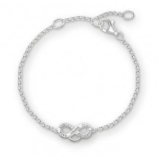"""Thomas Sabo Charm- Armband """" Infinity"""" X0204-001-12"""