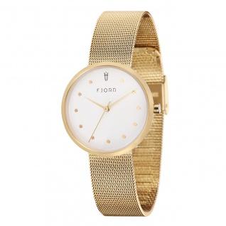 Fjord Uhren in Zwickau: Damenuhr Milanaiseband gold 927000216